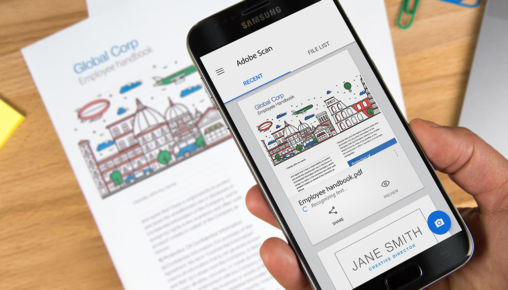 Adobe Scan – Aprenda Como Scanear Documentos Com o Celular